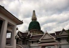 Construção tailandesa do pagode Fotos de Stock Royalty Free