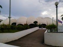 A construção tem um tipo do telhado dilui o shell Imagem de Stock Royalty Free