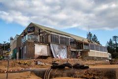 construção Tempestade-danificada em Sydney Fotografia de Stock