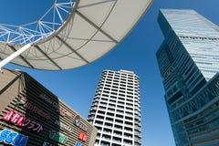 Construção terminal de Abenobashi, Osaka Imagens de Stock