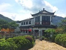 construção tradicional chinesa Foto de Stock