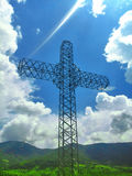 Construção transversal gigante Imagens de Stock