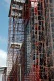 Construção um hospital Fotografia de Stock Royalty Free