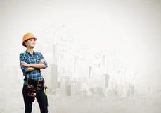 Construção urbana Imagens de Stock
