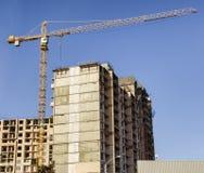 Construção urbana nova Imagem de Stock Royalty Free