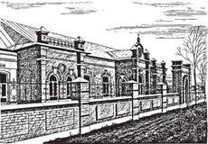 Construção velha Fotografia de Stock Royalty Free
