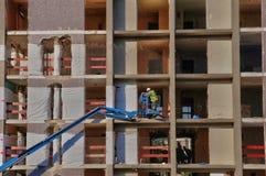 Construção velha antes da demolição em Les Mureaux Imagem de Stock
