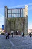 Construção velha da câmara municipal da cidade de Porto - casa a Dinamarca Câmara de Antiga Foto de Stock Royalty Free