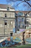 Construção velha da cidade fotos de stock