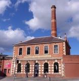 Construção velha da empresa de Hobart Gas Imagem de Stock