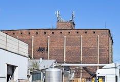 Construção velha da fábrica e do armazém Imagem de Stock Royalty Free