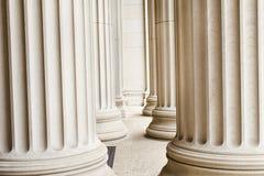 Construção velha das colunas Imagens de Stock