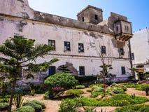 Construção velha de Essaouria imagens de stock