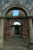 Construção velha de Ghost na Índia foto de stock royalty free