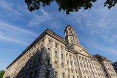 Construção velha do stadthaus em Berlim Alemanha fotografia de stock royalty free