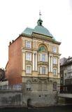 Construção velha em Bielsko-Biala poland fotografia de stock