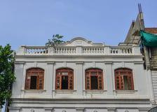 Construção velha em Colombo, Sri Lanka foto de stock
