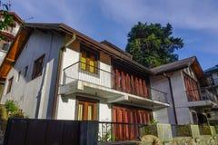 Construção velha em Kandy, Sri Lanka imagem de stock