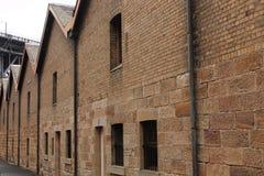 Construção velha do arenito Foto de Stock