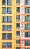 Construção vertical do condomínio Imagem de Stock