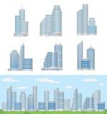 Construções Fotografia de Stock