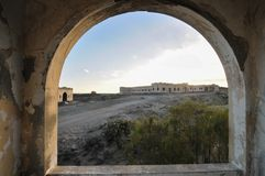 Construções abandonadas Foto de Stock