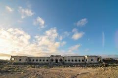 Construções abandonadas Fotos de Stock Royalty Free