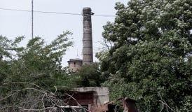 Construções abandonadas Chernobyl quebradas sujas, vagas Fotos de Stock