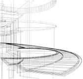 Construções abstratas da linha vetor 33 ilustração do vetor