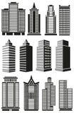 Construções altas Fotos de Stock