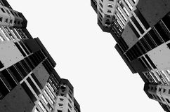 Construções altas da cidade Imagem de Stock