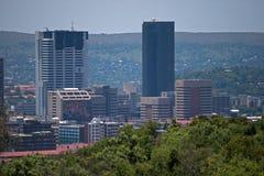 Construções altas da cidade Imagem de Stock Royalty Free