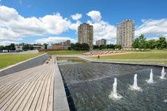 Construções altas da elevação, Kaunas, Lituânia Fotos de Stock Royalty Free