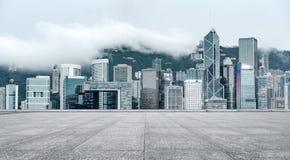 Construções altas do ` s de Hong Kong Imagens de Stock