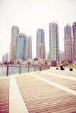 Construções altas em Dubai Fotos de Stock