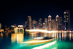 Construções altas em Dubai Fotos de Stock Royalty Free