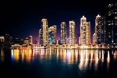 Construções altas em Dubai Imagem de Stock