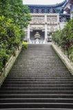 Construções arquitetónicas antigas, Sichuan Foto de Stock Royalty Free
