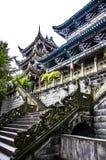 Construções arquitetónicas antigas, Sichuan Fotografia de Stock Royalty Free