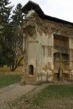 Construções arruinadas nas ruínas foto de stock