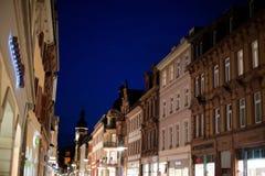 Construções bonitas de Heidelberg Imagens de Stock Royalty Free