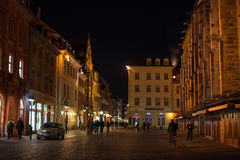 Construções bonitas de Heidelberg Foto de Stock