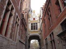 Construções (Bruges, Bélgica) Foto de Stock Royalty Free