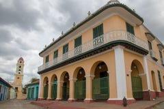 Construções coloniais espanholas em Trinidad, Cuba imagem de stock royalty free