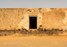 Construções coloniais velhas Casa de los Coroneles em La Oliva em Fue Foto de Stock