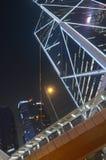 Construções comerciais em Admiralty, Hong Kong Fotografia de Stock