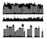 Construções da cidade Foto de Stock