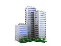 Construções da cidade ilustração stock
