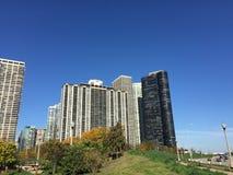 Construções da cidade Fotografia de Stock Royalty Free