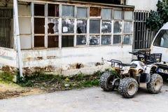 Construções da reabilitação urbana Fotografia de Stock Royalty Free